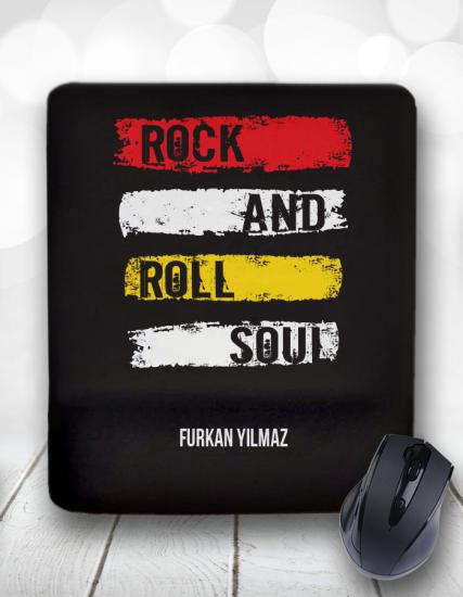 Rock and Roll Kişiye Özel Mouse Pad